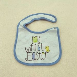 🐣FREE w/ baby/kids/maternity purchase, Easter Bib